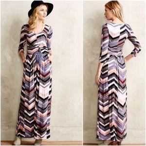 Maeve Novela Printed Maxi Dress